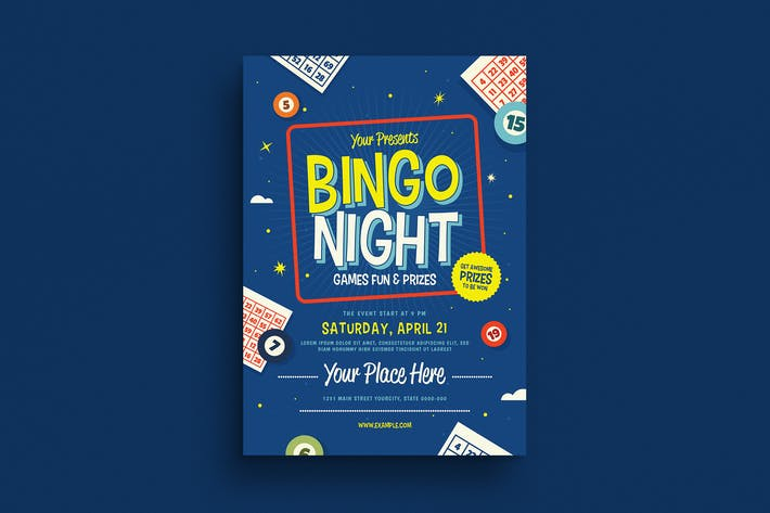 Thumbnail for Bingo Night Event Flyer