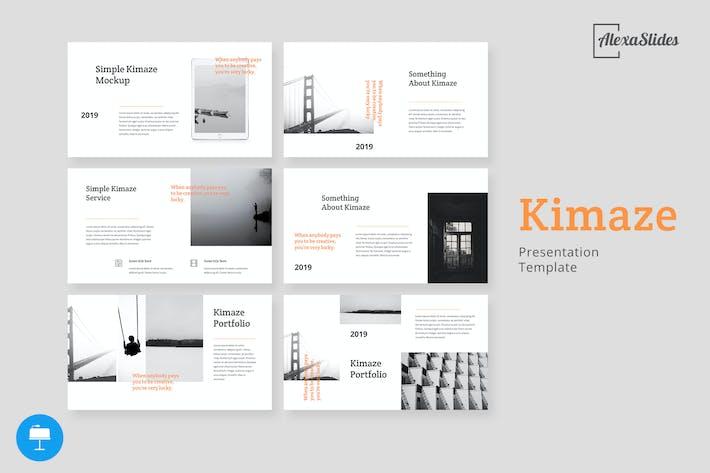 Thumbnail for Kimaze - Plantilla creativa para Keynote