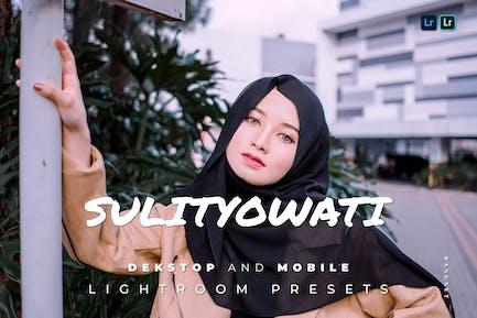 Sulistyowati Desktop and Mobile Lightroom Preset