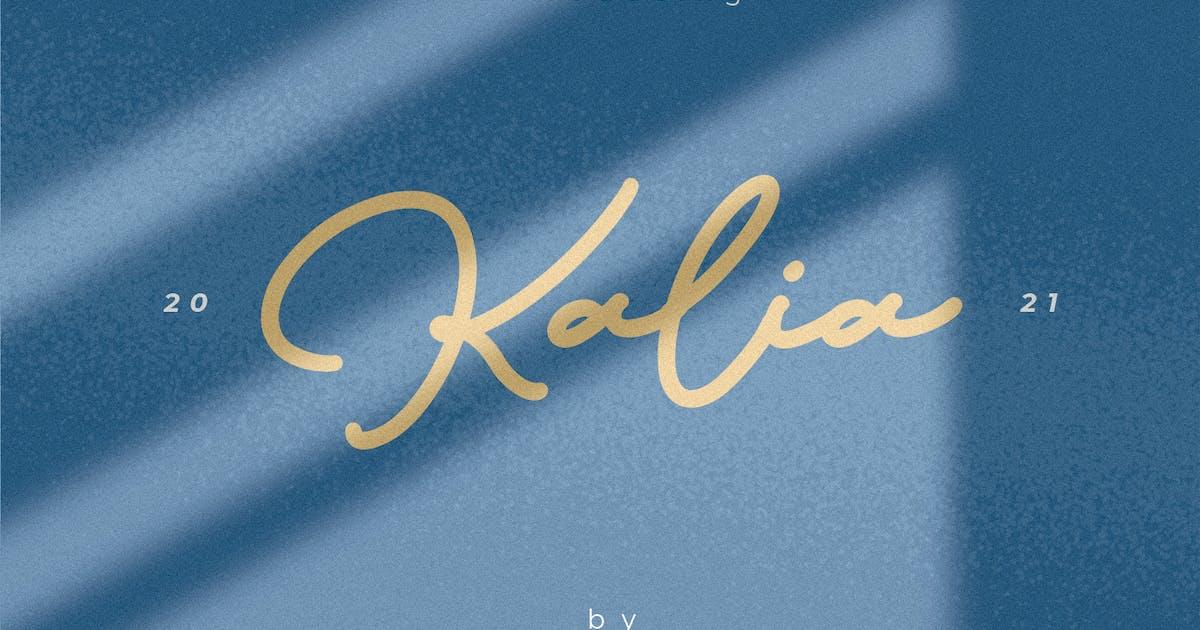 Download Kalia Handwritten Signature Font by maulanacreative