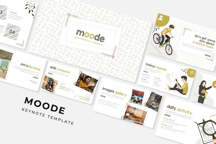 Thumbnail for Moode - Keynote Template
