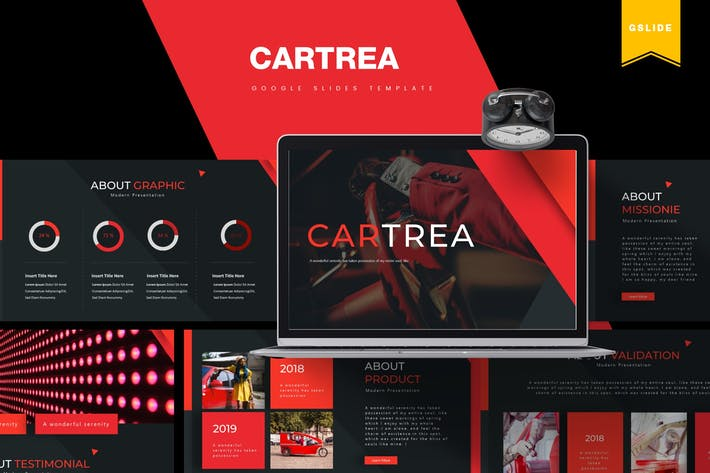 Thumbnail for Cartrea | Google Slides Template