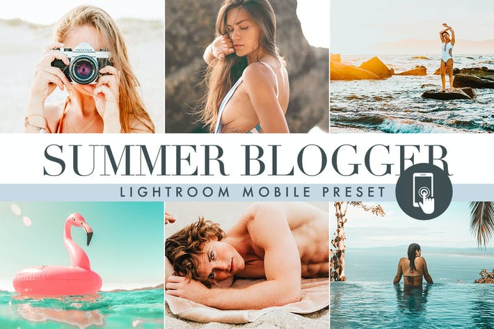 Thumbnail for Summer Lightroom Mobile Presets