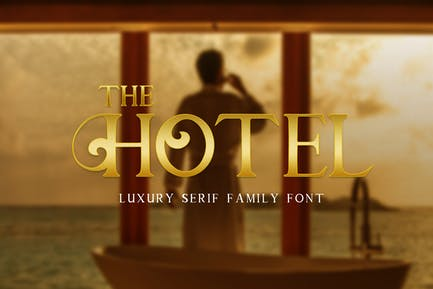 The Hotel - Font