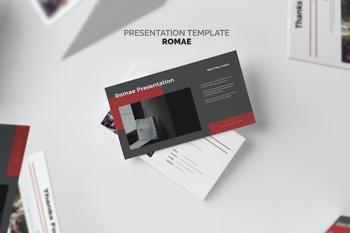 Cover Image For Romae: Черная пятница распродажа событие Google Слайды