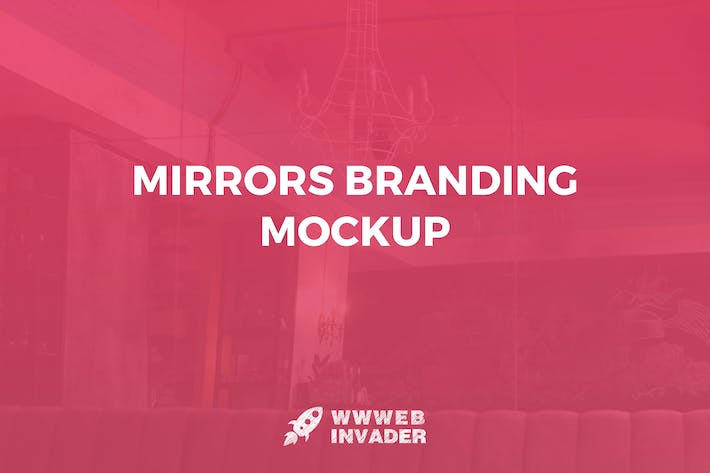 Thumbnail for Mirrors Branding Mockup