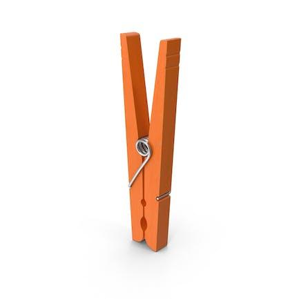 Clothes Pin Orange