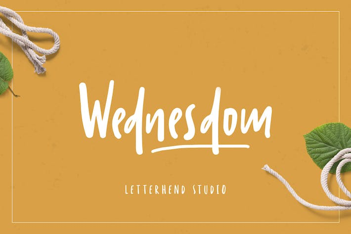 Thumbnail for Wednesdom – Playful Font