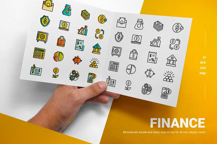 Thumbnail for Finance - Icon