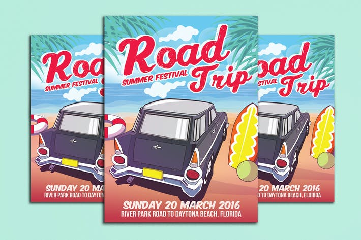 Thumbnail for Road Trip Summer Festival Beach Edition