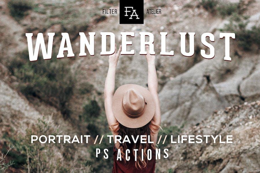 Wanderlust Photoshop Action
