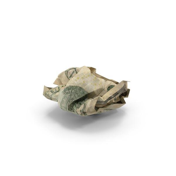 Thumbnail for US 10 Dollar Bill Crumpled