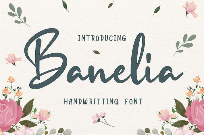 Thumbnail for Fuente de escritura a mano de Banelia