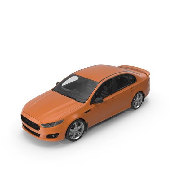 Thumbnail for Orange Car