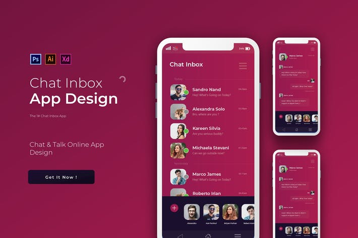 Thumbnail for ChatInbox   App Template