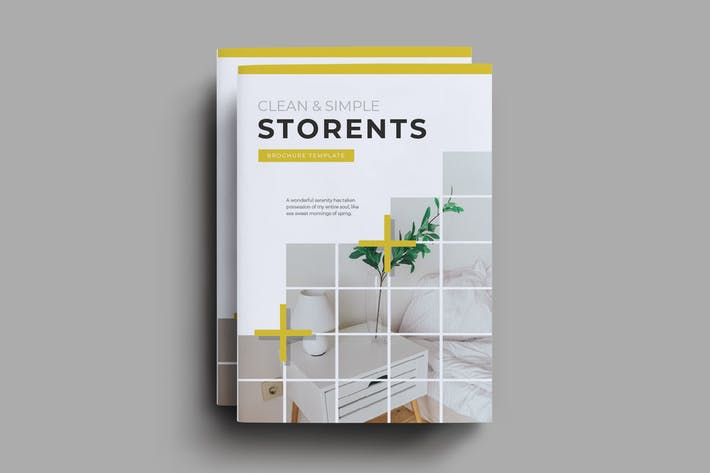 Thumbnail for Modèle de brochure Storents