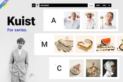 Kuist - Portfolio WordPress Theme for Series