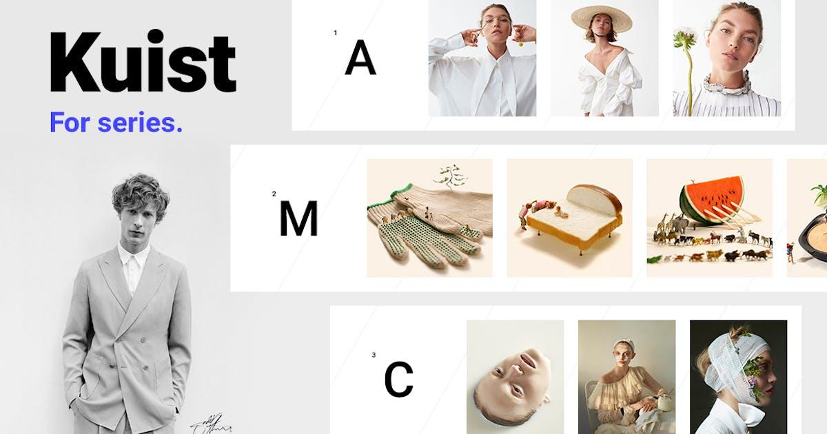 Download Kuist - Portfolio WordPress Theme for Series by Burnhambox