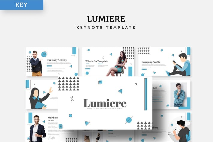 Thumbnail for Lumiere - Keynote Template