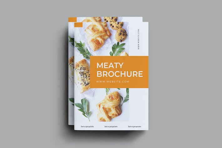 Thumbnail for Meaty Brochure Template