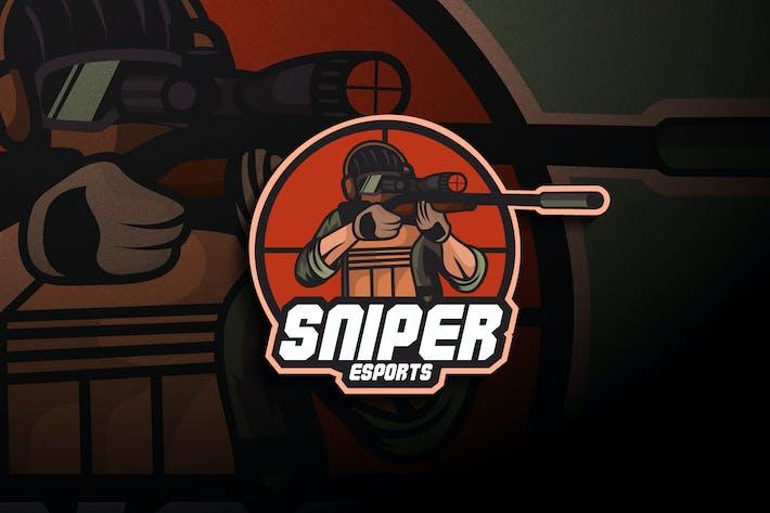 Thumbnail for Sniper Esports - Mascot & Esport Logo