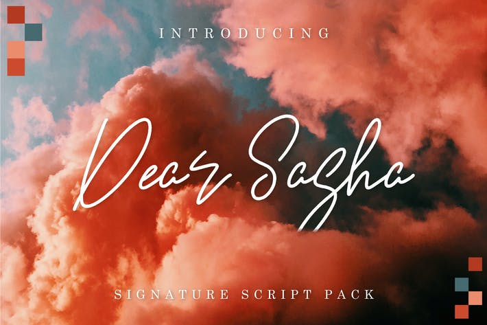 Thumbnail for Dear Sasha Font Pack