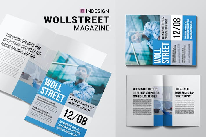 Thumbnail for Woll Street | Magazine