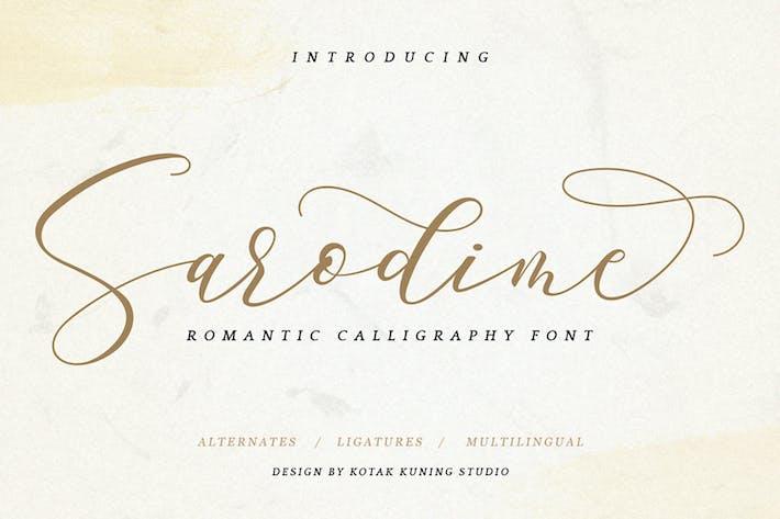 Thumbnail for Sarodime - Fuente Elegante Signature