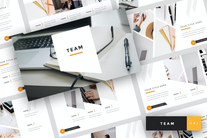 Thumbnail for Team - Business Google Slides Template