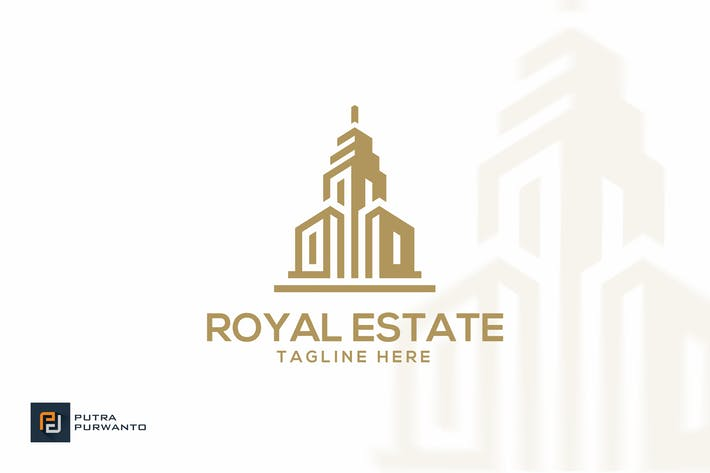 Thumbnail for Royal Estate/Gebäude - Logovorlage