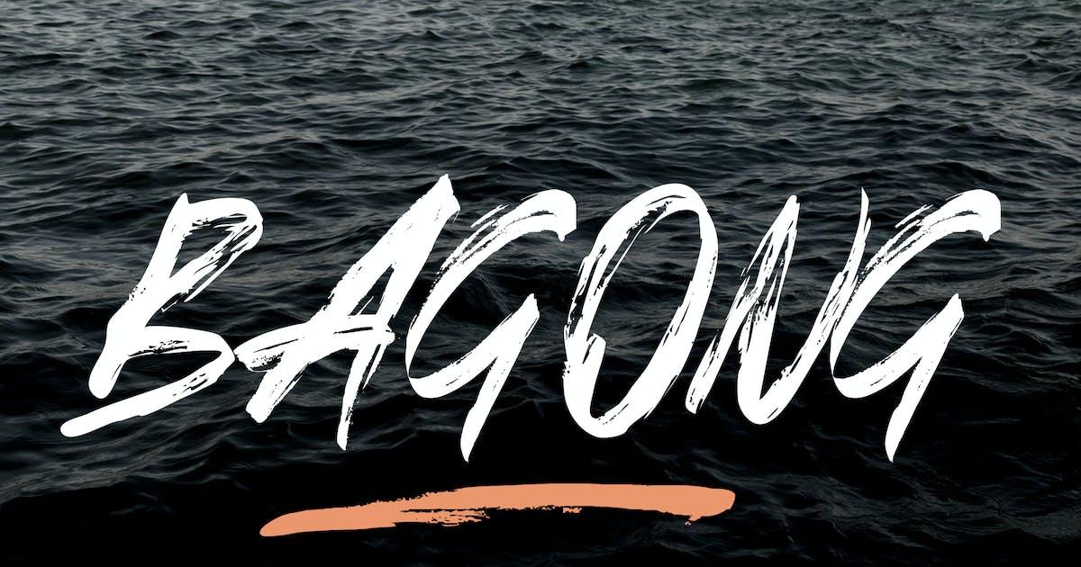 Download Bagong Brush Font by indotitas