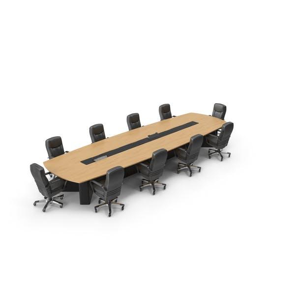Стол для встреч со стульями