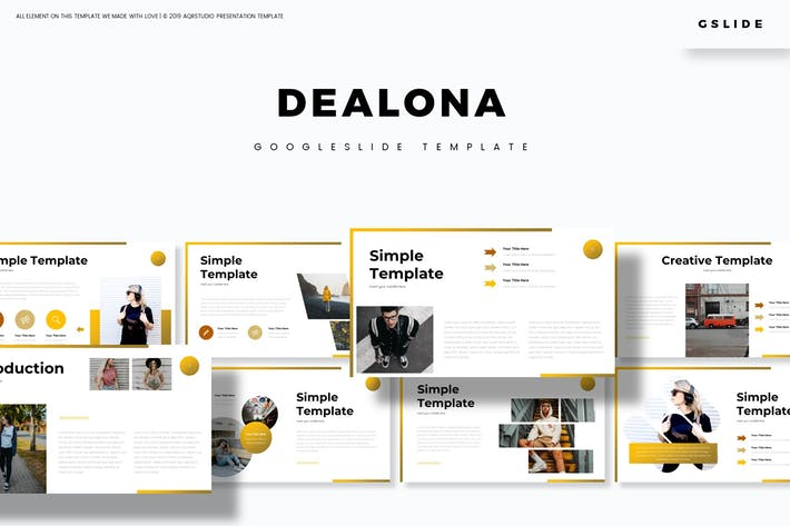 Thumbnail for Dealona - Google Slide Template