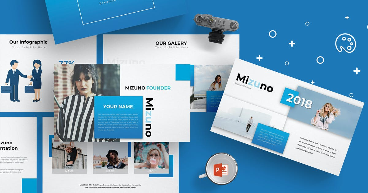 Download Mizuno - Powerpoint Template by aqrstudio
