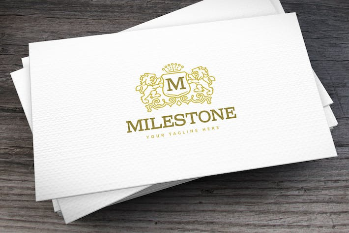 Cover Image For Milestone Logo Template