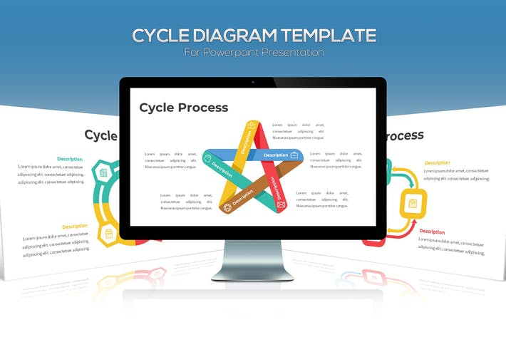 Thumbnail for Cycle Diagram For Powerpoint Presentation