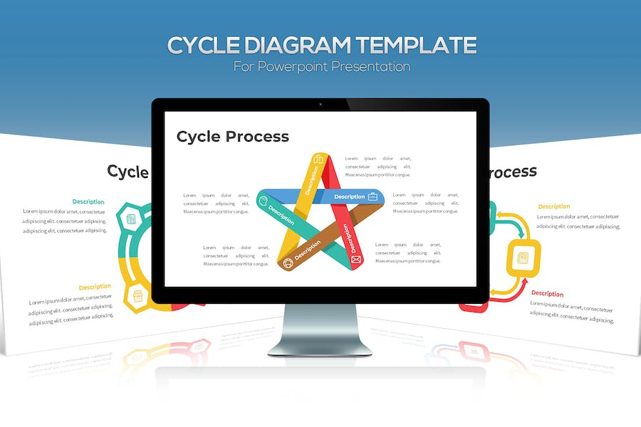 Cycle Diagram For Powerpoint Presentation