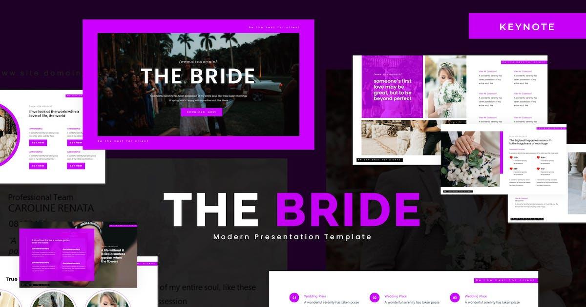 Download The Bride - Keynote Template by karkunstudio