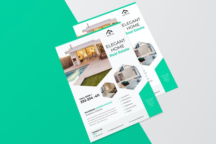 Thumbnail for Elegant Real Estate  Flyer
