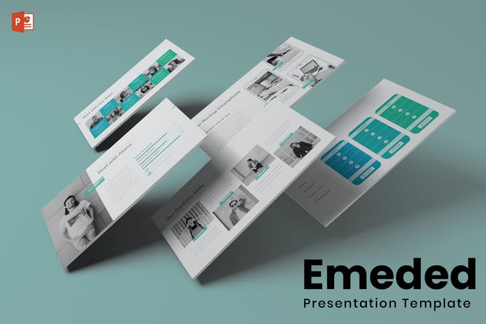 Thumbnail for Emeded - Powerpoint Template