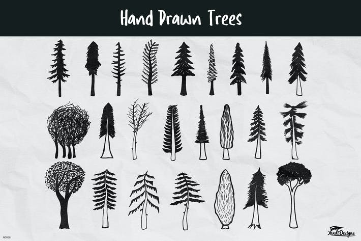 Thumbnail for Hand Drawn Trees