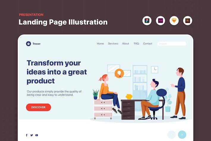 Thumbnail for bannière Web pour les gens d'affaires parler dans Office
