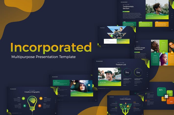 Incorporated Multipurpose Presentation Template