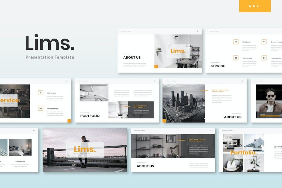 Lims - Creative Google Slides Template