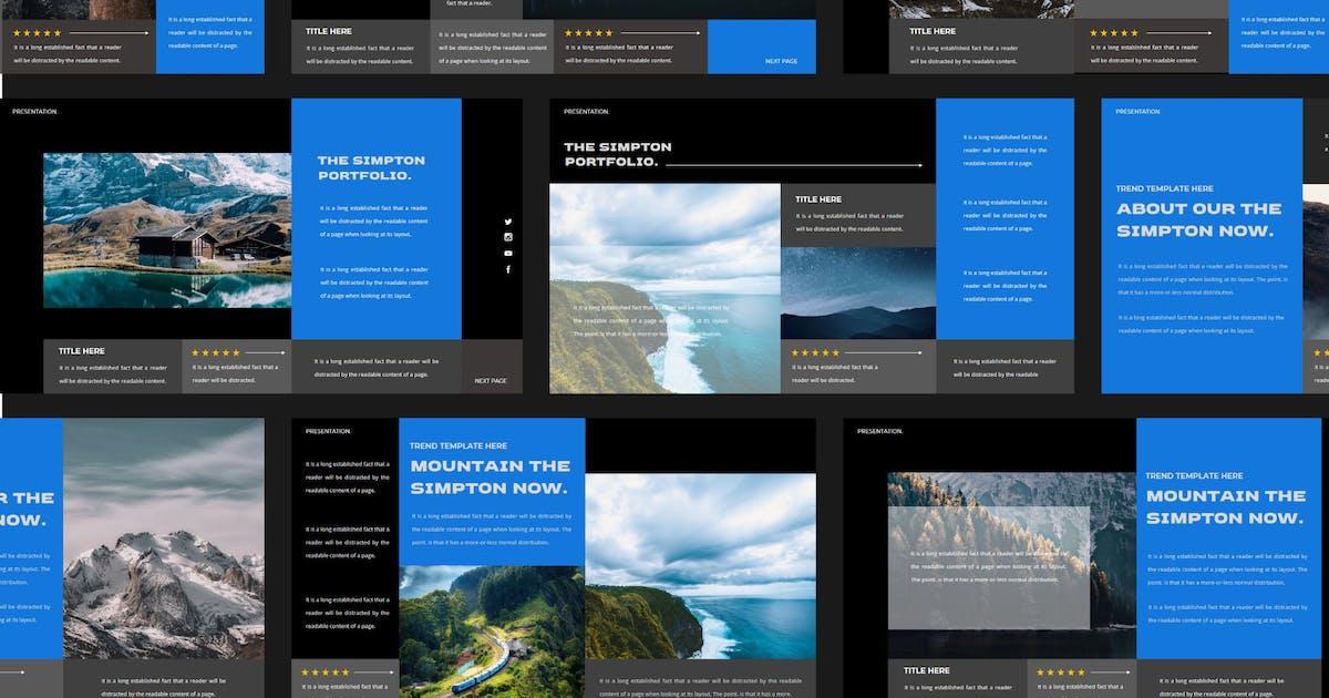 Download SIMPTON Powerpoint Template by axelartstudio