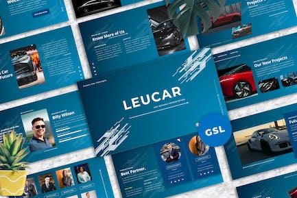 Leucar - Car Googleslide Template