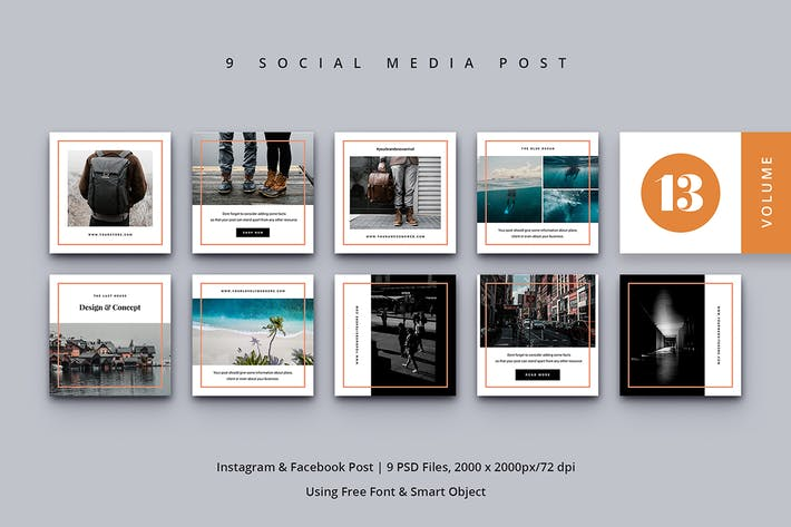 Thumbnail for Social Media Post Vol. 13
