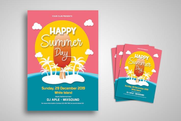 Thumbnail for Summer Festival Flyer Promo Template