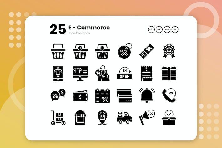 Thumbnail for 25 Значок электронной коммерции