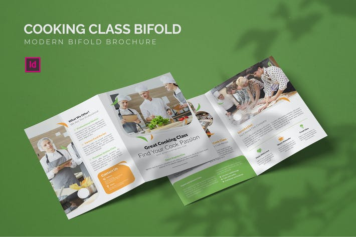 Thumbnail for Cooking Class - Bifold Brochure